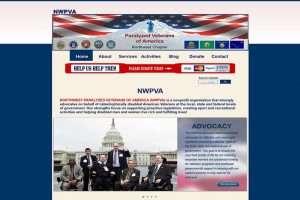 Nonprofit Paralyzed Veterans Website