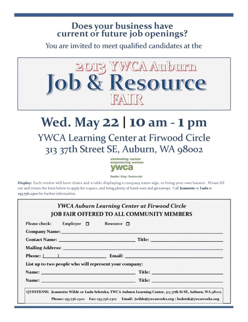 2013 Employer Invitation Flyer