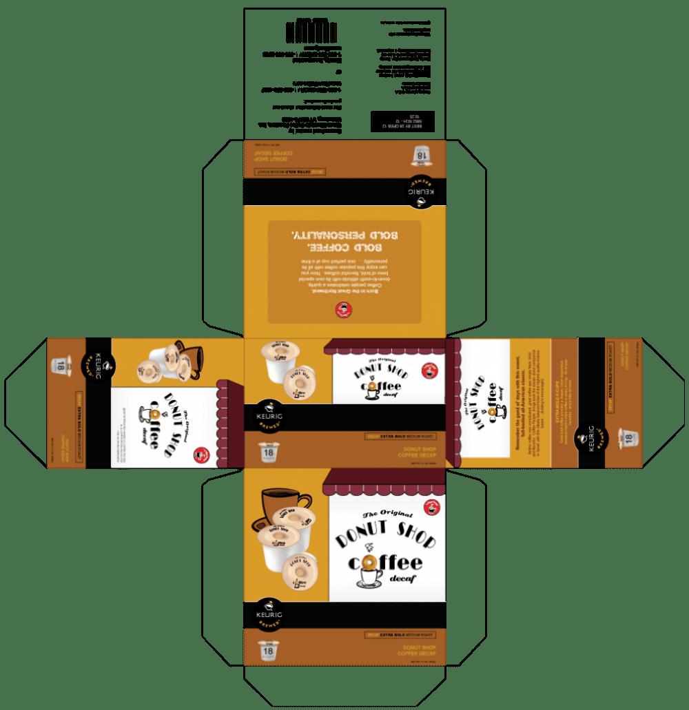 DonutShop Coffee Design