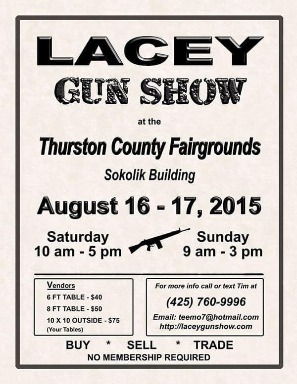 Lacey Gun Show