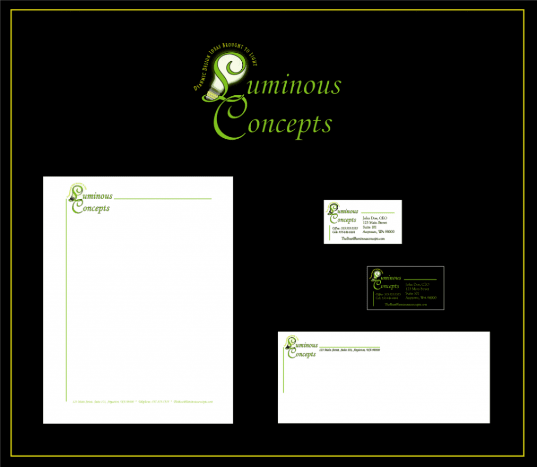 Luminous Concepts Business Package Presentation 2