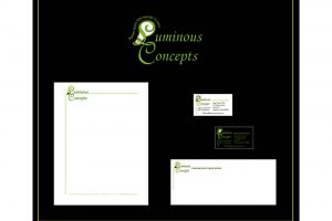 Business Logo, Business Card & Stationary Package