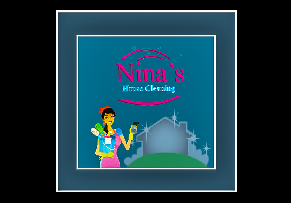 Nina's House Cleaning Graphic