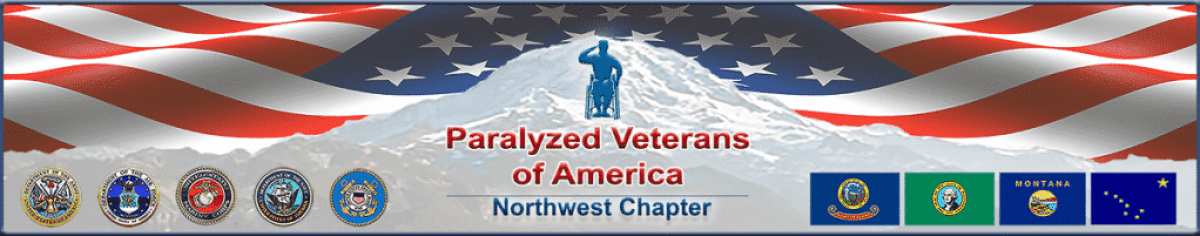 Northwest Paralyzed Veterans of America (Web Page Banner)