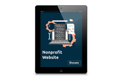nonprofit website feature image