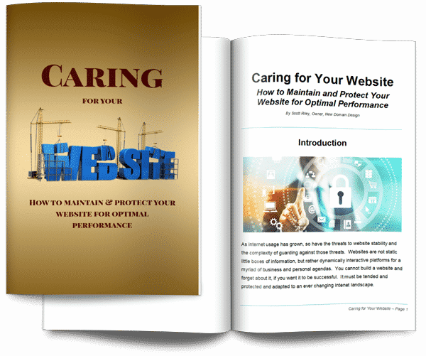 caring for your website mag cover 3