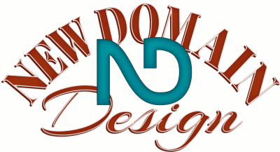 New Domain Design Lettermark