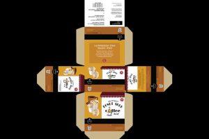 Print Work Packaging - Coffee Pods Box Slide