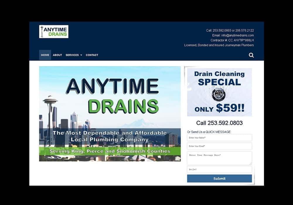 Plumber's Business Website