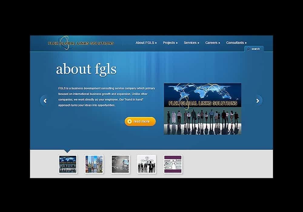 International Business Website