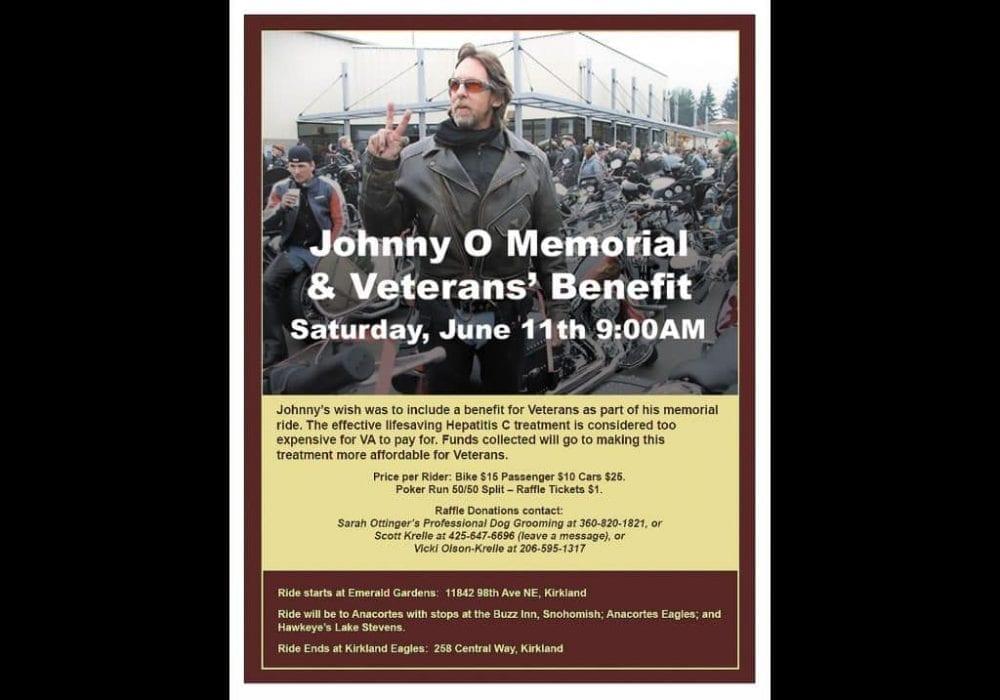 Memorial Ride Event Flyer