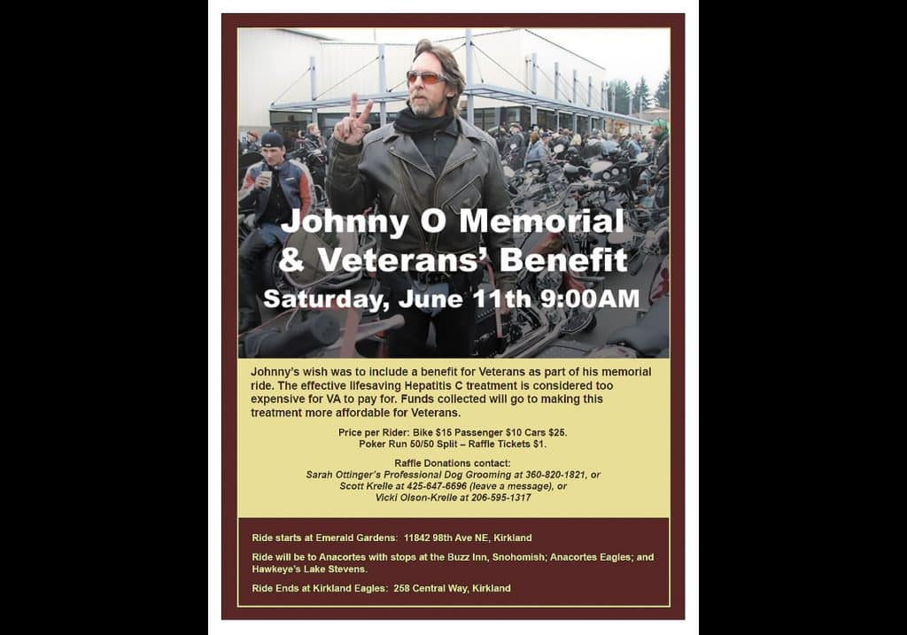 Memorial Ride Flyer Slide