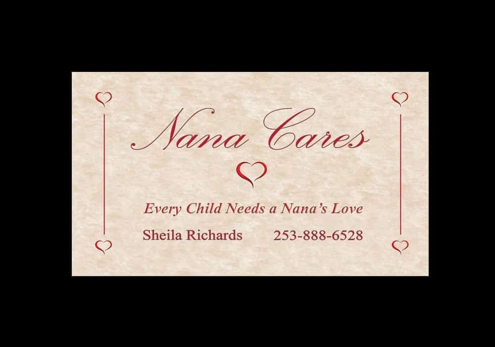 Childcare Business Card