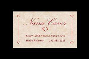 Child Care Business Card Slide