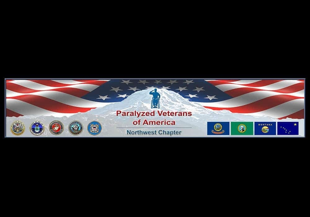 Paralyzed Veterans Website Header