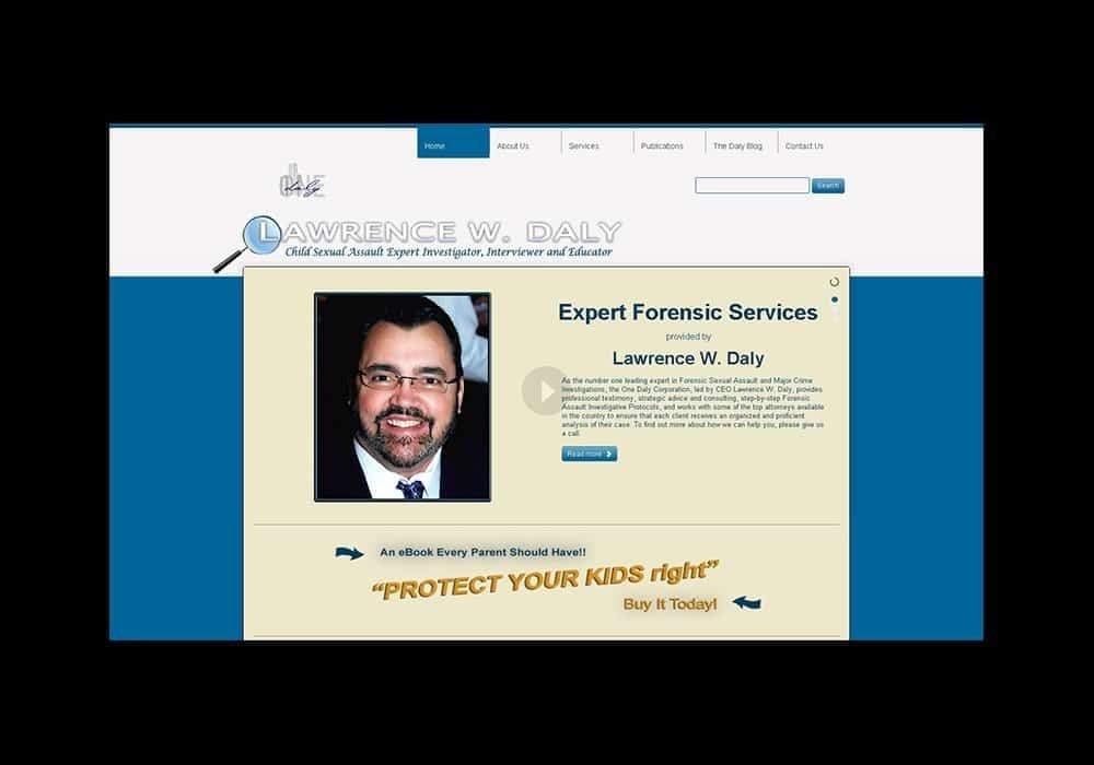 Private Investigator Business Website