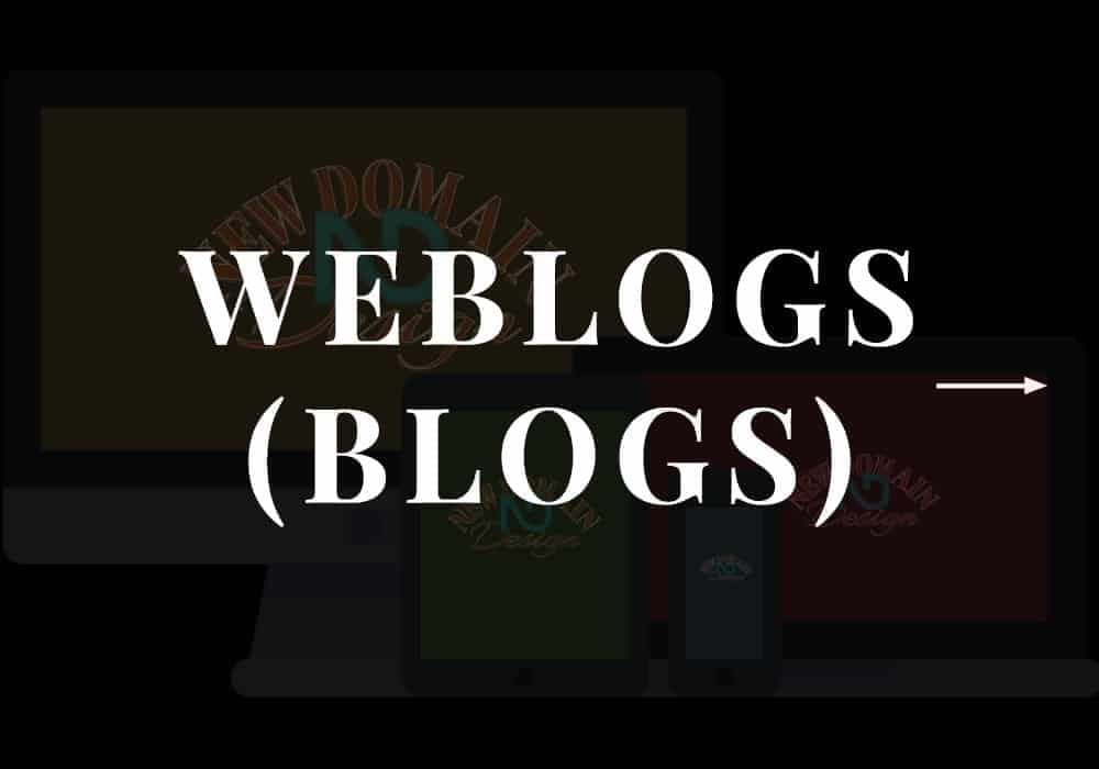 Weblogs (Blogs) Category Placeholder