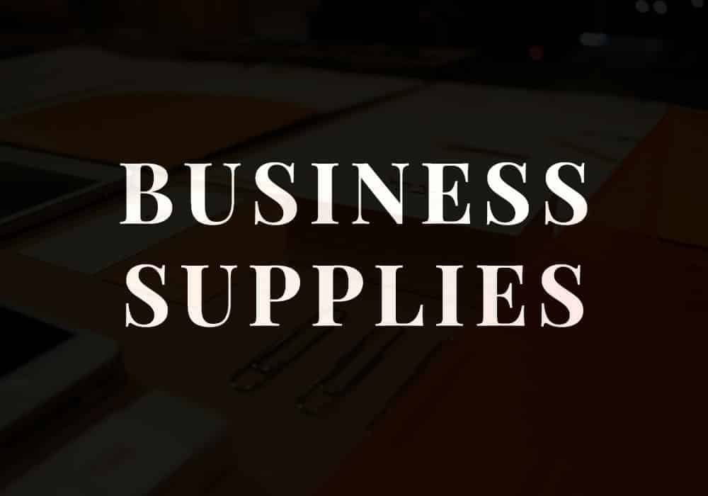 Business Supplies Category Placeholder