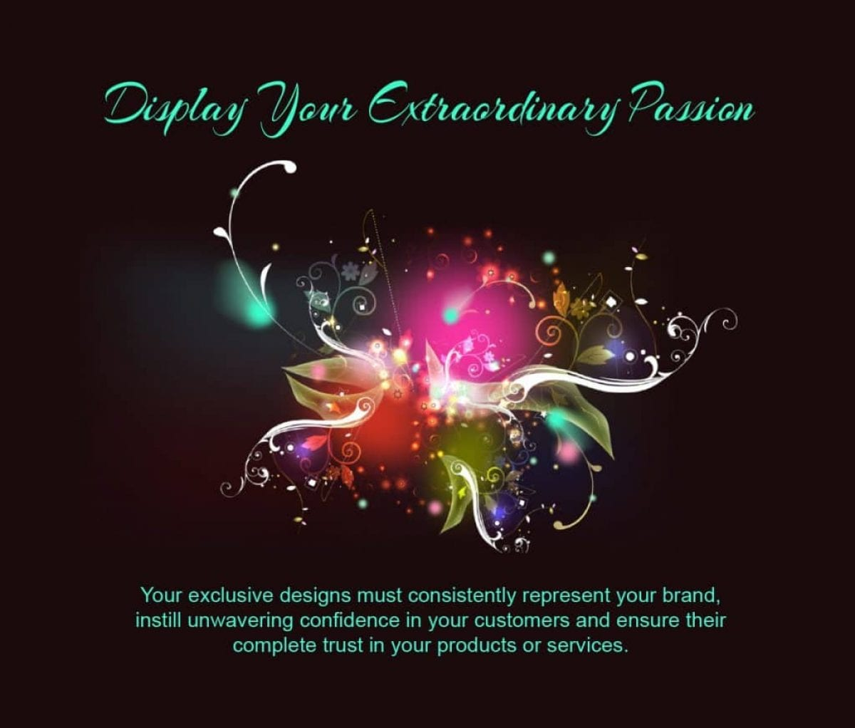 display your passion graphic 2