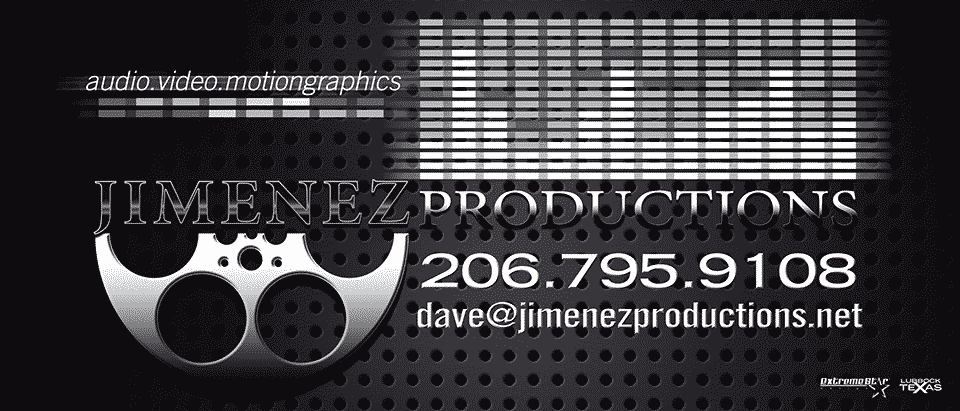 jimenez productions banner
