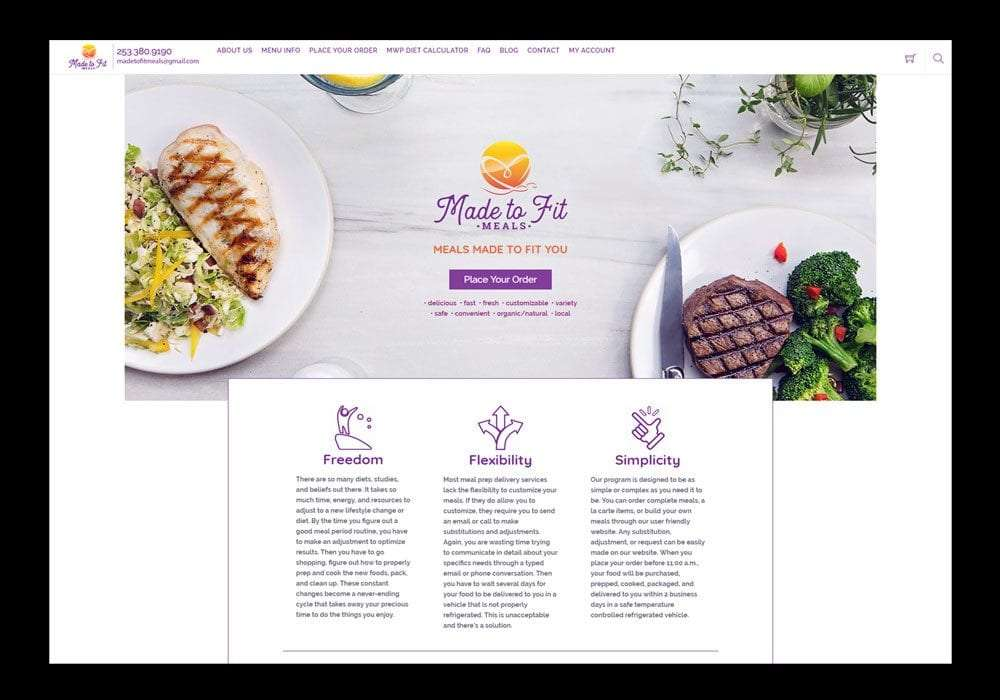 Food Delivery E-Commerce Website