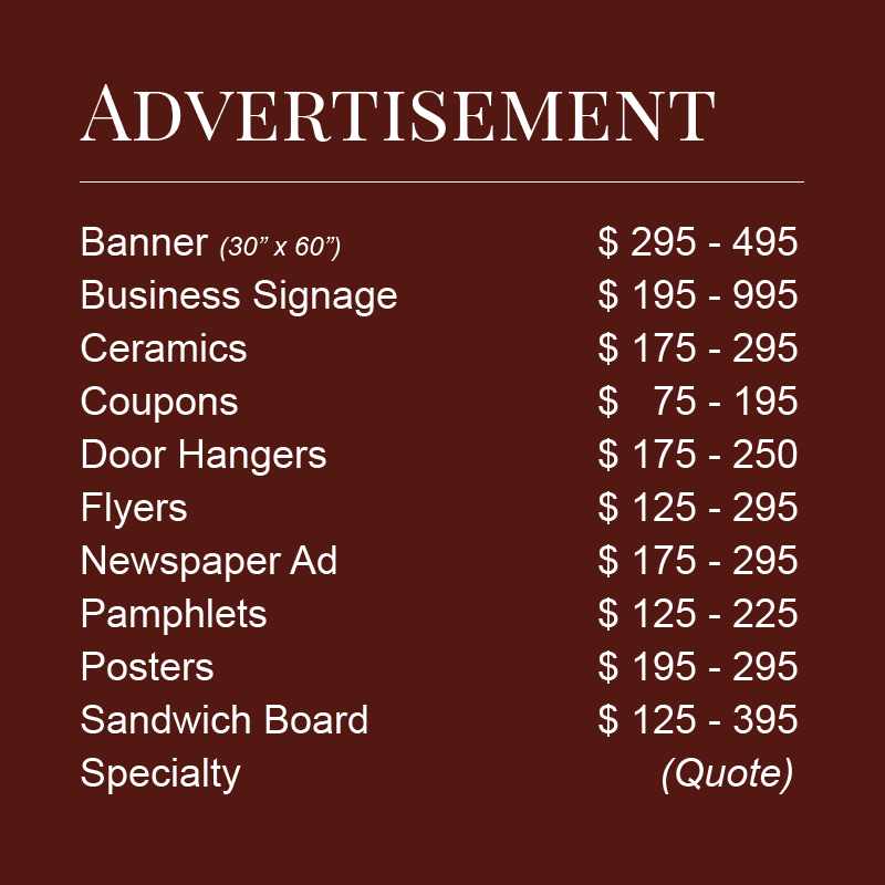advertisement prices shop page 5