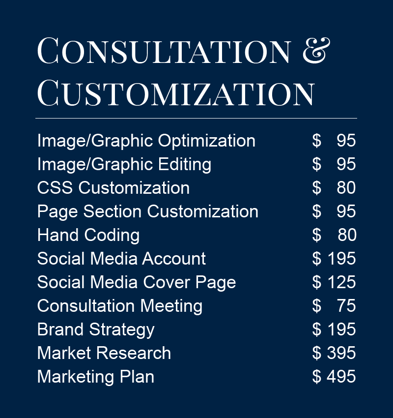 consult custom social prices shop page 2