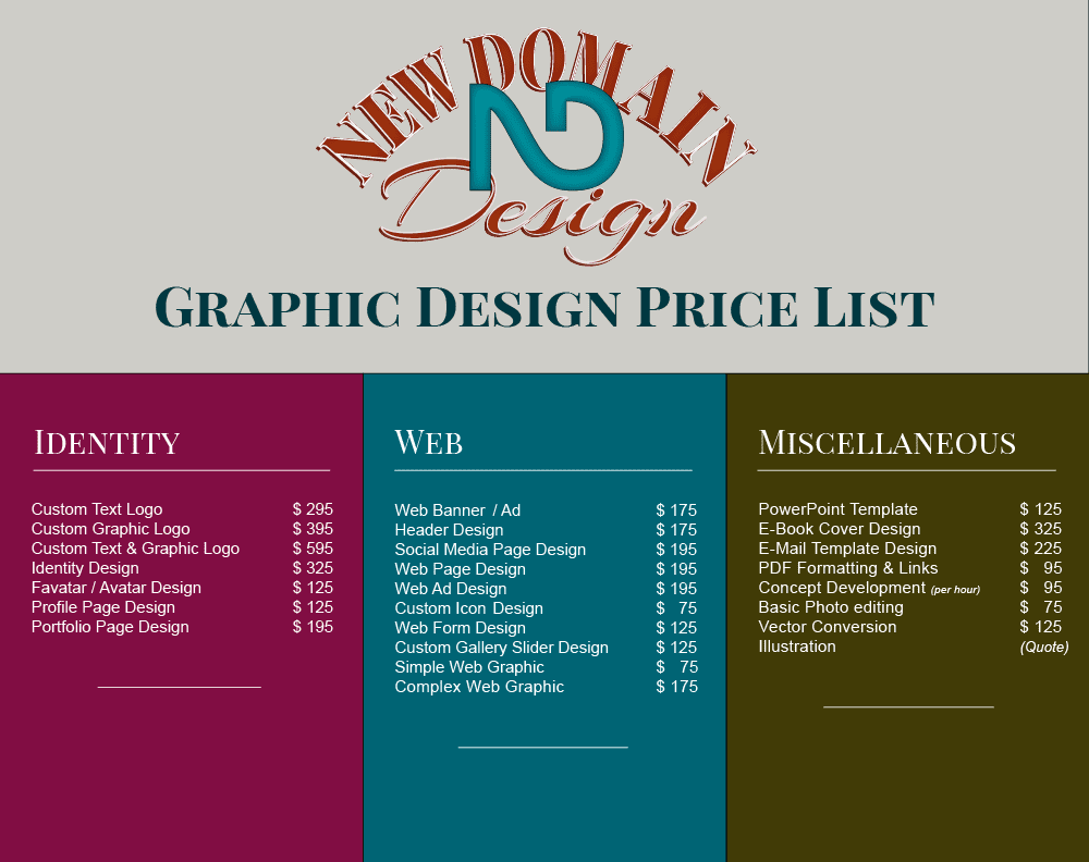 graphic design prices graphic 2