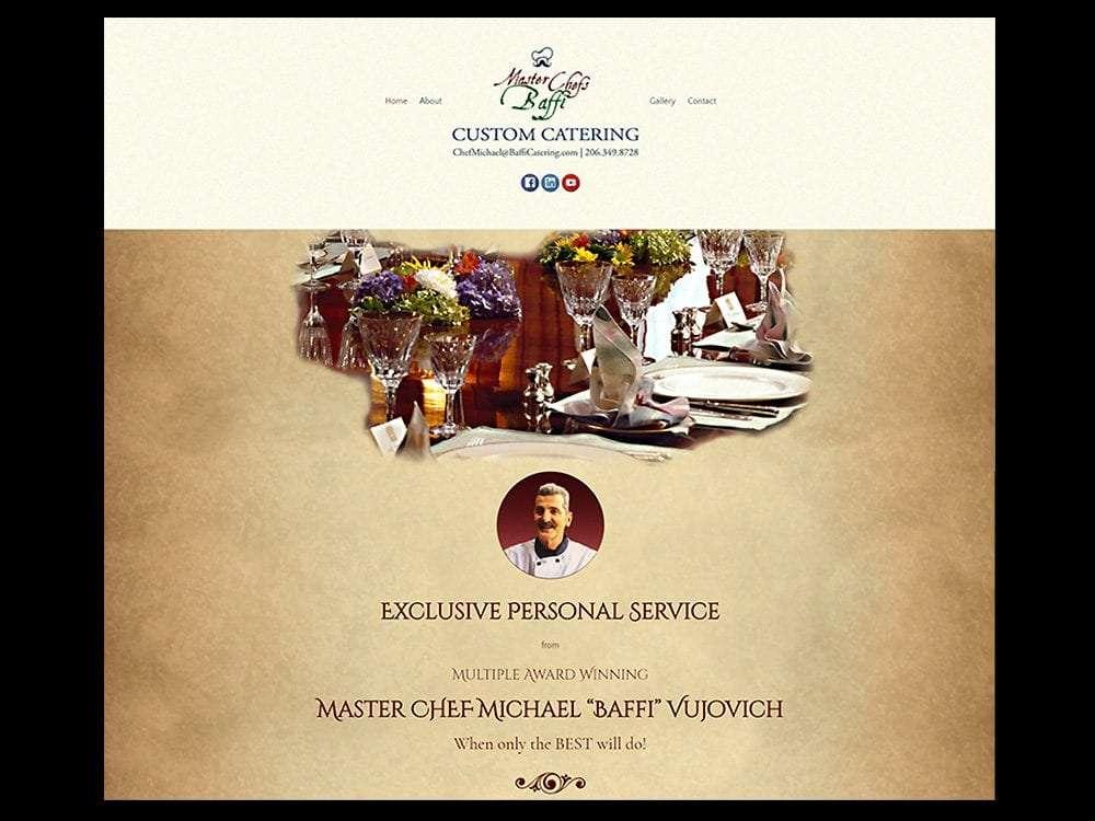 Master Chefs Baffi Custom Catering