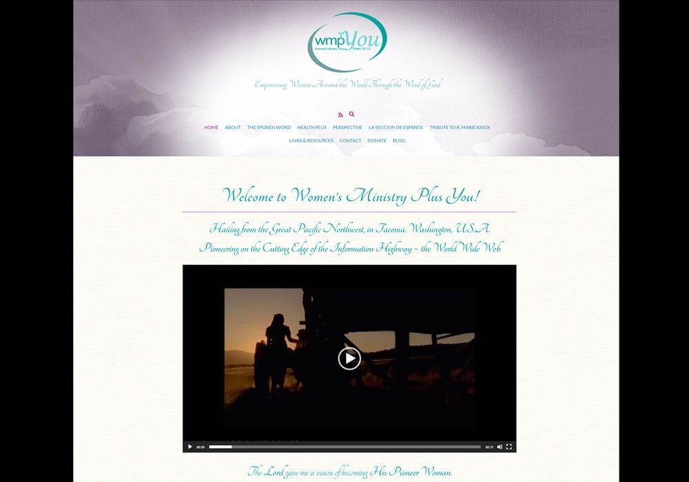 Women's Ministry Plus You Website