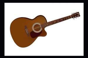 acoustic-guitar-hand-drawn-illustration-graphic